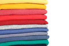 Clothes Stack Royalty Free Stock Photo