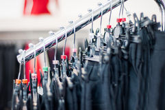 Clothes stand Royalty Free Stock Photography
