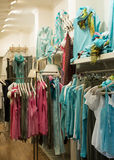 Clothes store Stock Photo