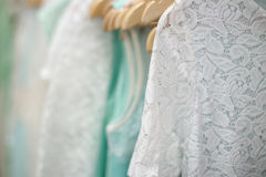 Clothes in the store Royalty Free Stock Images