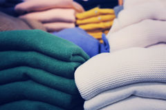 Clothes in store Royalty Free Stock Photos
