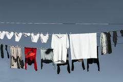 Clothes in the sun Royalty Free Stock Photos