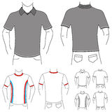 Clothes template 2 (fashion man) Royalty Free Stock Photography