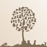 Clothes tree Stock Photography