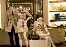 clothing fashion store interiors Stock Photo