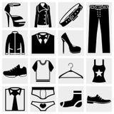 Clothes vector icon. Stock Photo