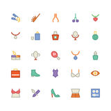 Clothes Vector Icons 7 Stock Photography