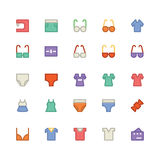 Clothes Vector Icons 11 Stock Photo