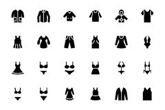 Clothes Vector Icons 1 Royalty Free Stock Image