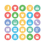 Clothes Vector Icons 10 Royalty Free Stock Photo
