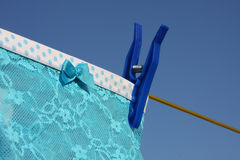 Clothes Washing Laundry Line Royalty Free Stock Images