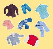 Clothes Stock Image