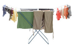 Clotheshorse Royalty Free Stock Image