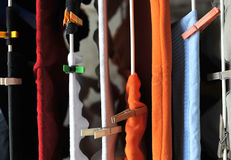 Clotheshorse Fotos de Stock