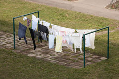 Clotheshorse Stock Photography