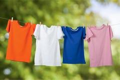 clothesline royalty-vrije stock afbeeldingen
