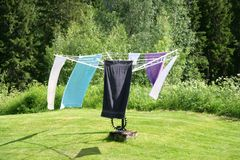 Clothesline Royalty Free Stock Image