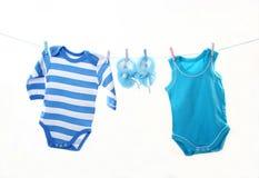 Clothesline Imagem de Stock Royalty Free