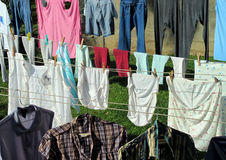 Clothesline Royalty Free Stock Photo