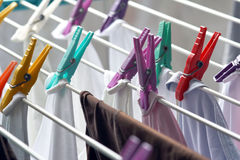 Clothesline Stock Image