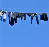 Clothesline Royalty Free Stock Photos