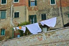 clothesline stock foto