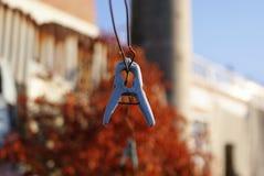 clothesline stock foto's