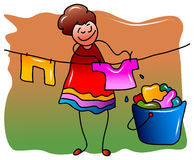 Clothesline Stock Images