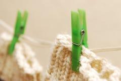 clothesline skarpety Zdjęcie Stock