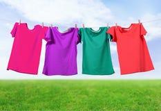 Clothesline Stock Photos