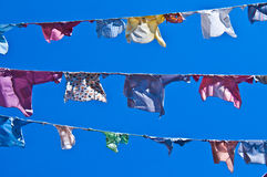 Clotheslines Stock Photography
