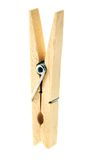 clothespin ξύλινος στοκ εικόνα με δικαίωμα ελεύθερης χρήσης