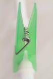 clothespin πράσινος Στοκ Φωτογραφίες