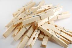 clothespin деревянный Стоковое фото RF