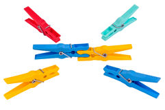 Clothespin Immagini Stock
