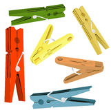 clothespin Obrazy Stock