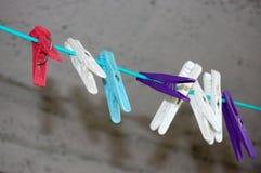 clothespin Lizenzfreies Stockfoto