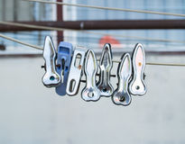 clothespin Images libres de droits
