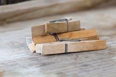 clothespin Στοκ εικόνα με δικαίωμα ελεύθερης χρήσης