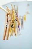 clothespin Stockfoto