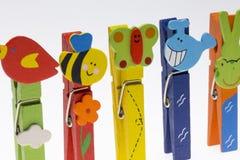 clothespin Стоковые Фото