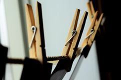 clothespin Fotografia de Stock Royalty Free