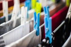 clothespin Stockfotos