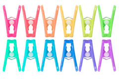 Clothespin or clothes peg Royalty Free Stock Photo