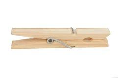 Clothespin di legno immagine stock