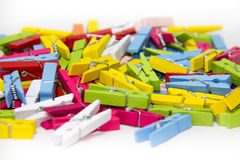 Clothespin. Royalty Free Stock Image