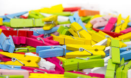 Clothespin. Royalty Free Stock Photo