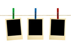 clothespins φωτογραφία αναδρομική Στοκ φωτογραφία με δικαίωμα ελεύθερης χρήσης