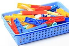 clothespins много Стоковая Фотография RF