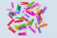 clothespins Zdjęcie Stock